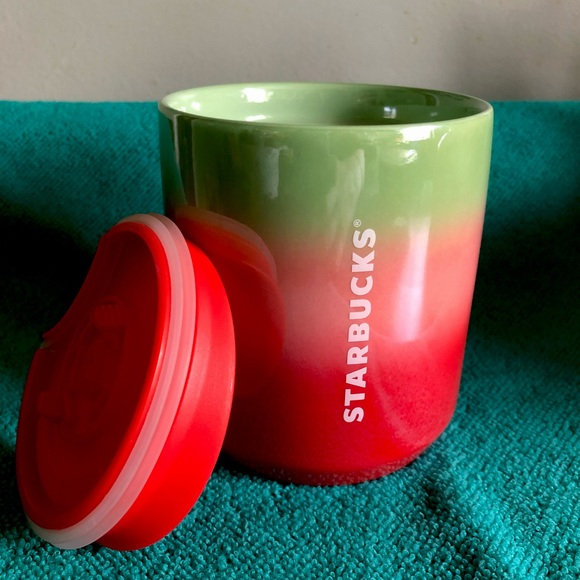 Starbucks travel cup